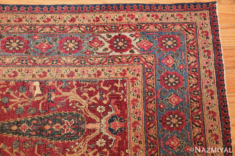 antique kerman persian rug 46637 corner Nazmiyal