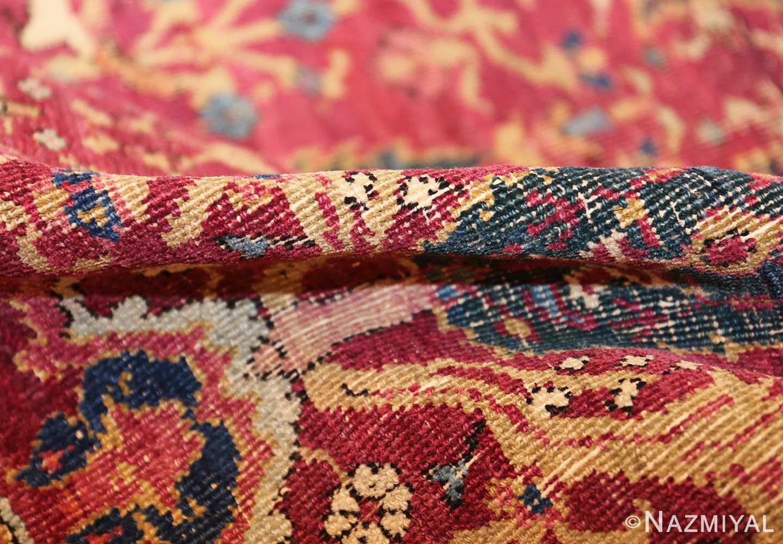 antique kerman persian rug 46637 pile Nazmiyal
