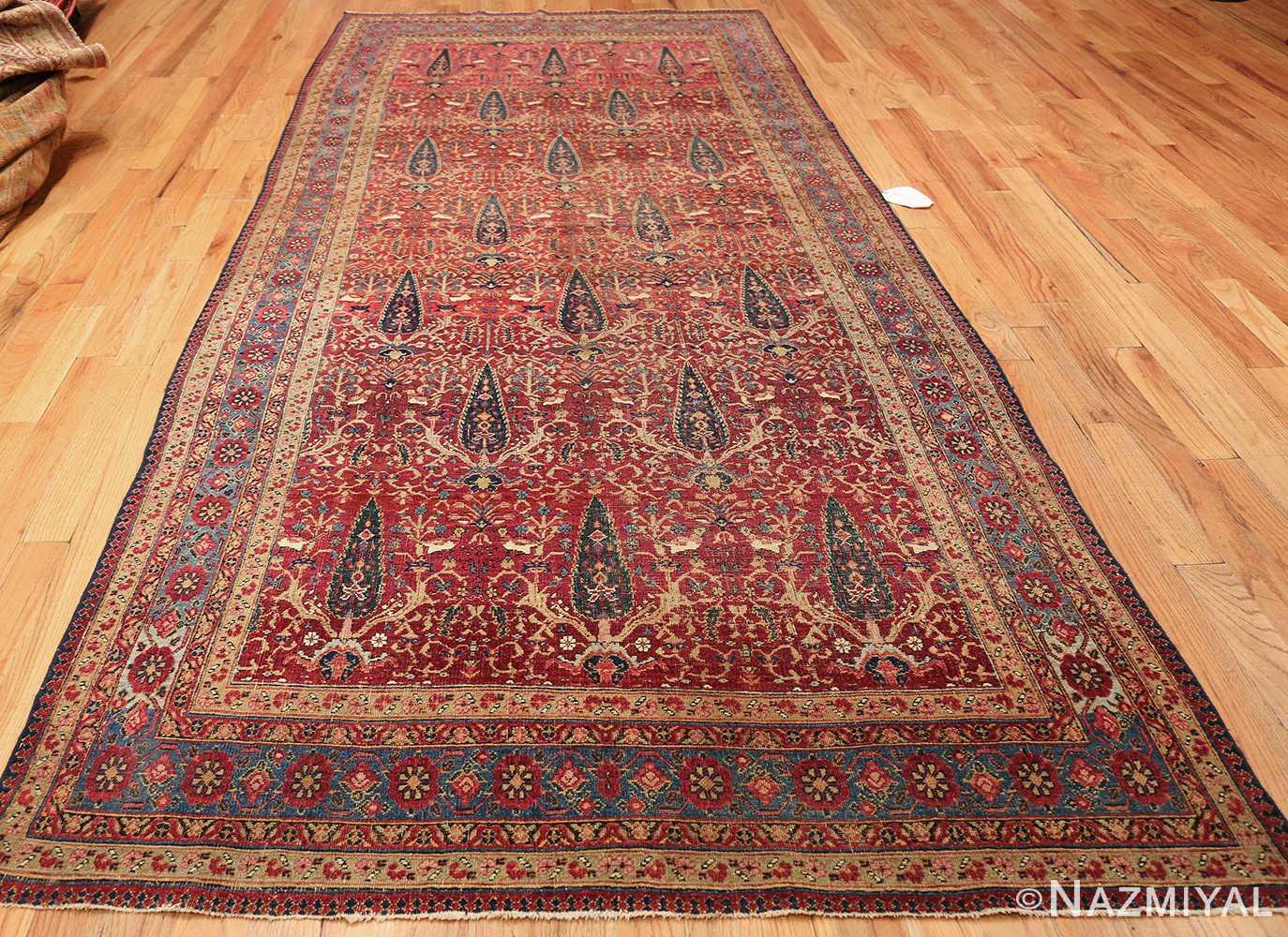antique kerman persian rug 46637 whole Nazmiyal