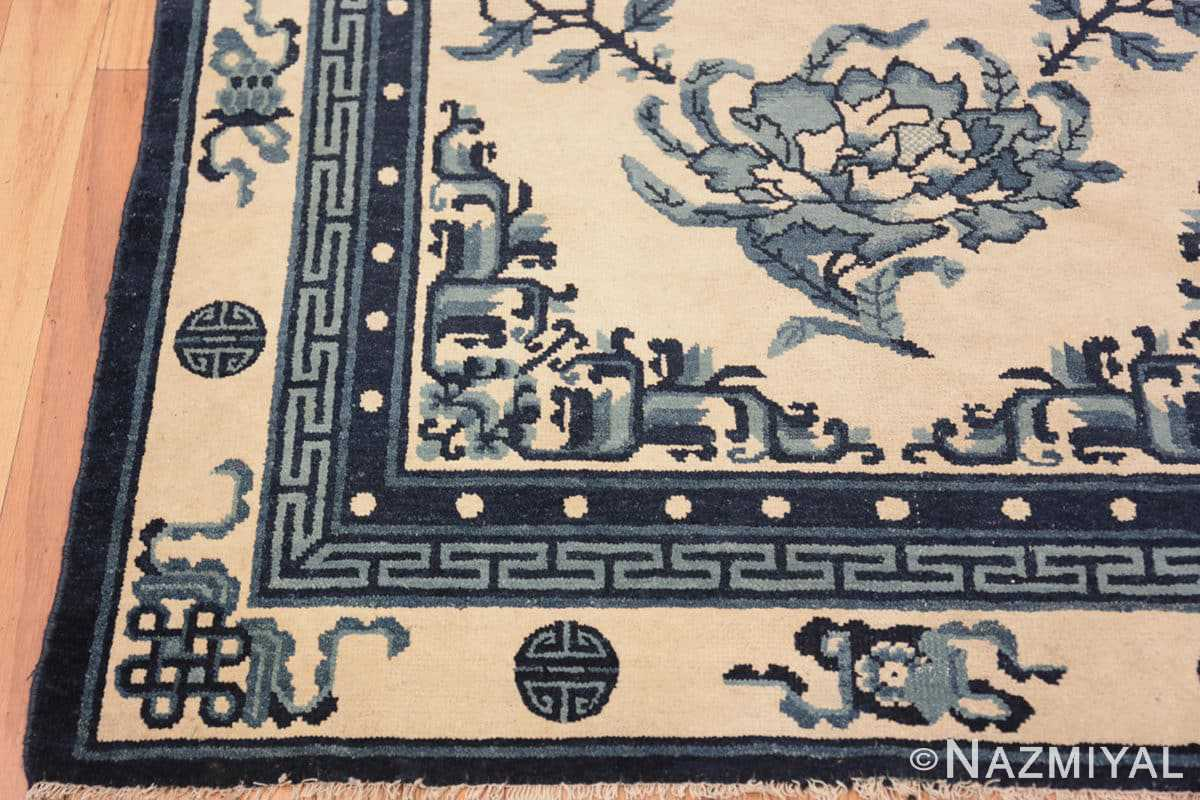 Corner Antique Chinese rug 46742 by Nazmiyal