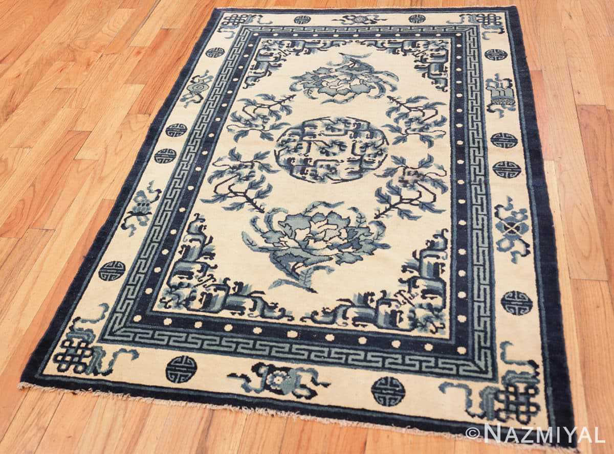 Full Antique Chinese rug 46742 by Nazmiyal