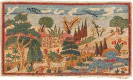 Antique Persian Kashan Rug 46406 Large Image
