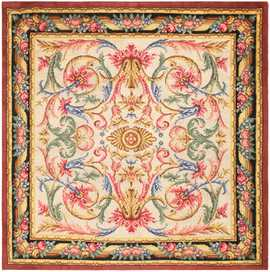 Antique Spanish Savonnerie Rug 46823 Nazmiyal