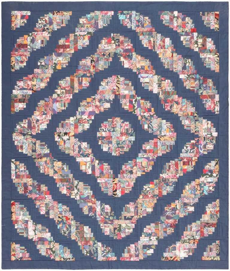 Vintage Swedish Textile 46863 Nazmiyal