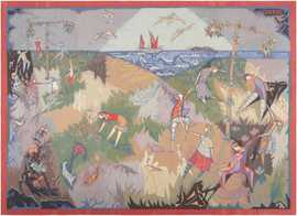 French Tapestry by Pinton Freres 46889 Nazmiyal