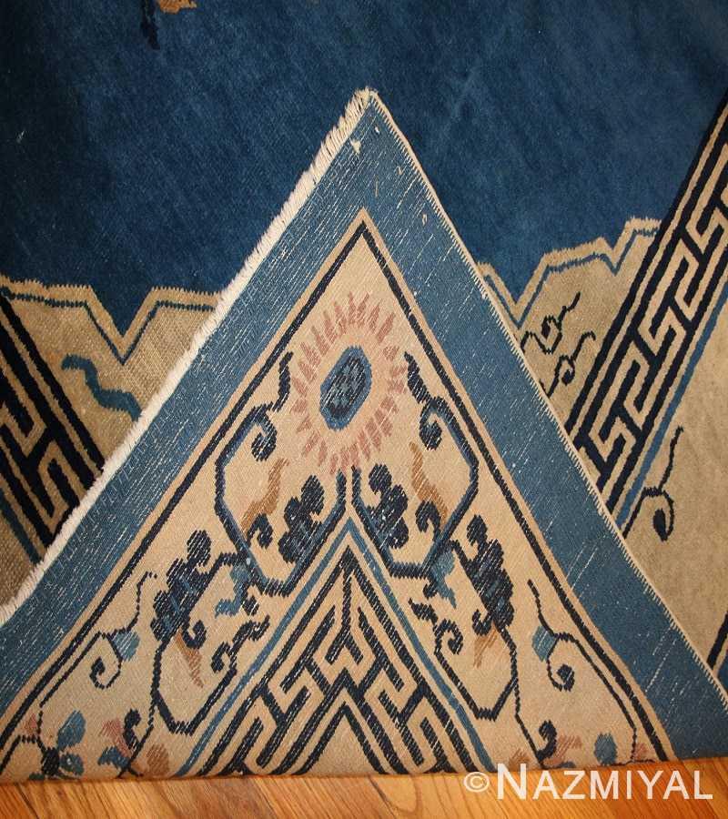 Antique Chinese Rug 46820 Weave Nazmiyal