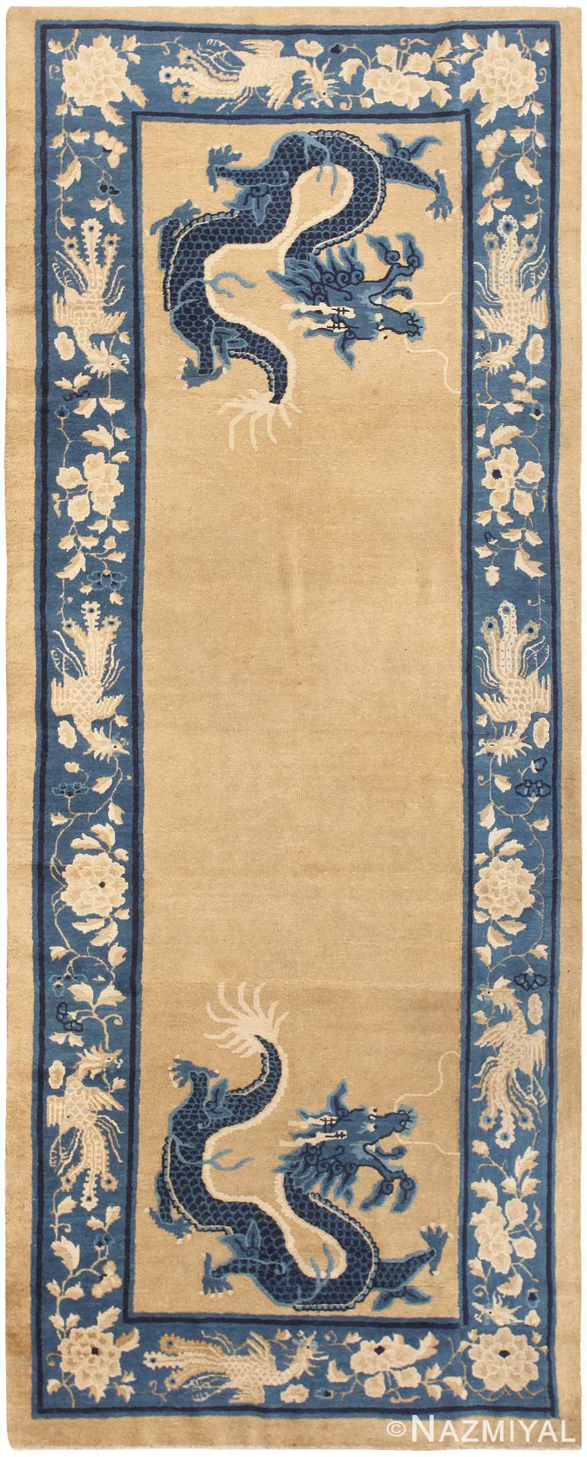 Antique Chinese Rug 46818 Nazmiyal