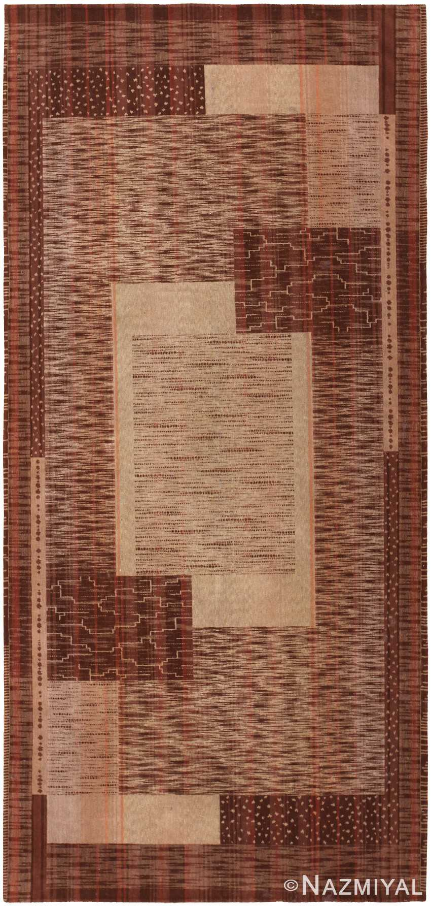 Antique French Art Deco Textile 46876 Nazmiyal