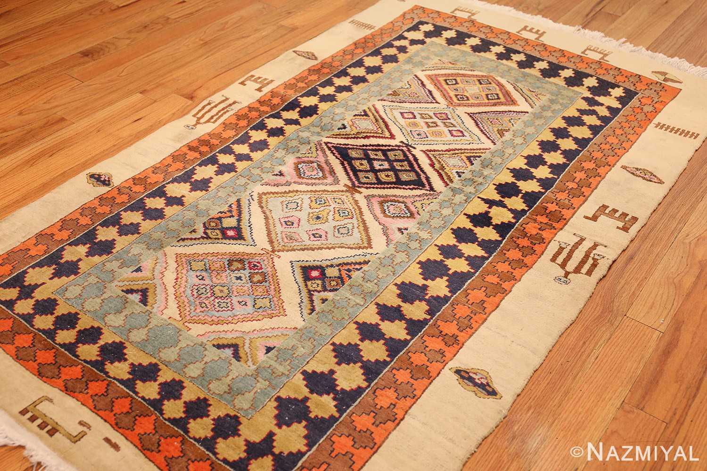 antique indian agra rug 46868 whole Nazmiyal