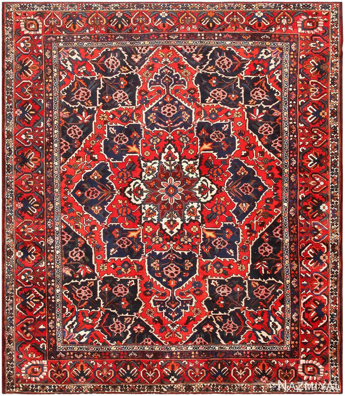 Antique Persian Bakhtiari Rug 46840 Nazmiyal