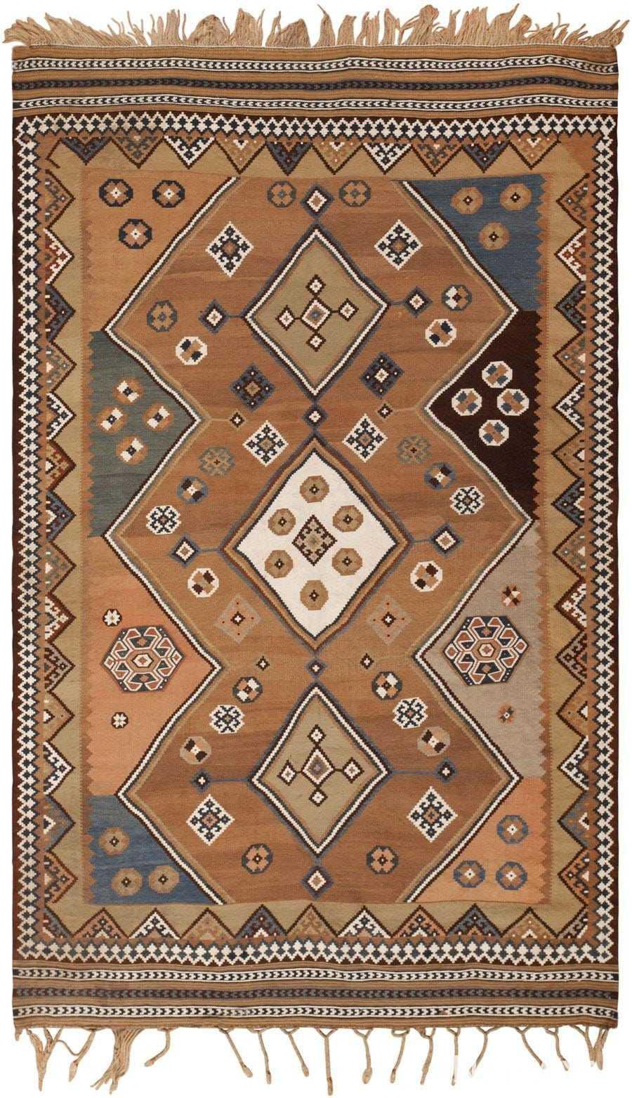 Antique Persian Kilim 45782 Detail/Large View