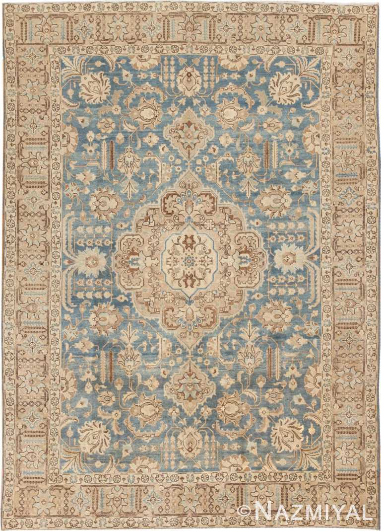 Antique Persian Tabriz Rug #46817 by Nazmiyal Antique Rugs