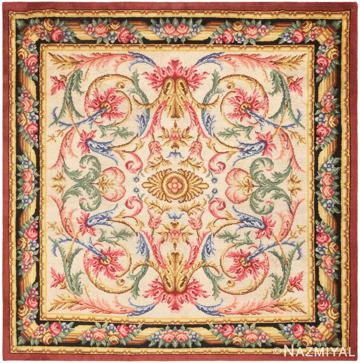 Savonnerie Rug Antique Spanish Savonnerie Carpet From