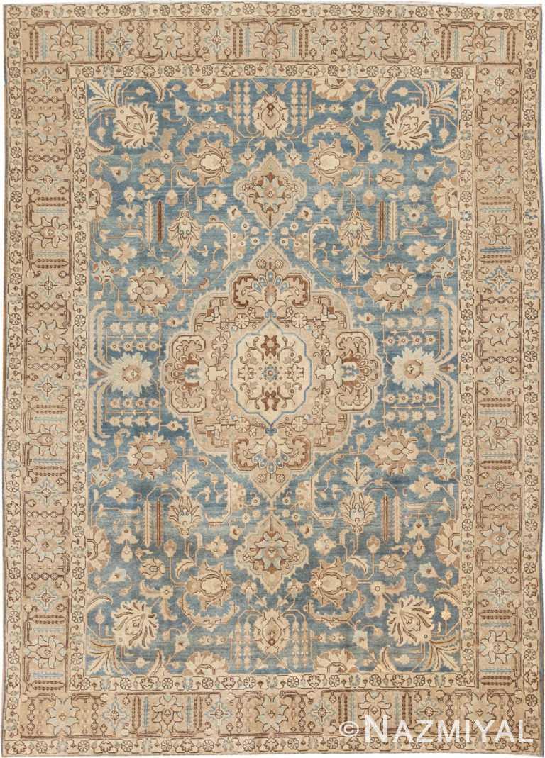 Antique Tabriz Persian Rug 46817 Nazmiyal