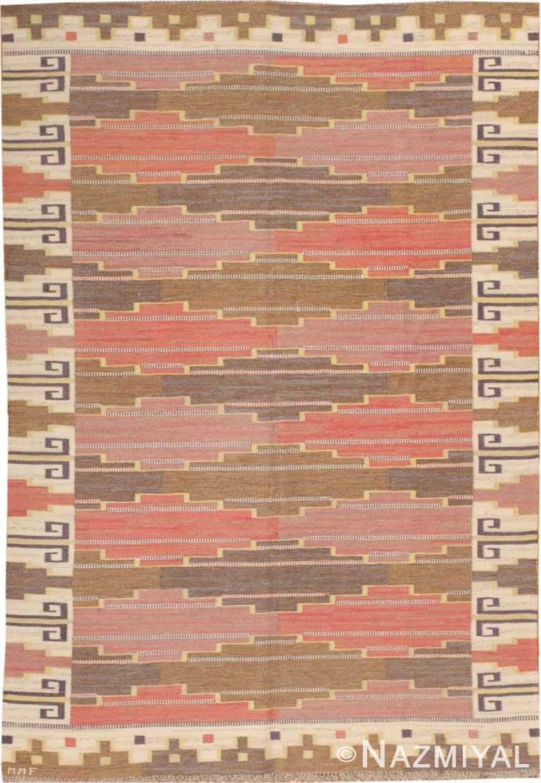 Vintage Scandinavian Rug by Bruna Heden 46844 Large Image Nazmiyal