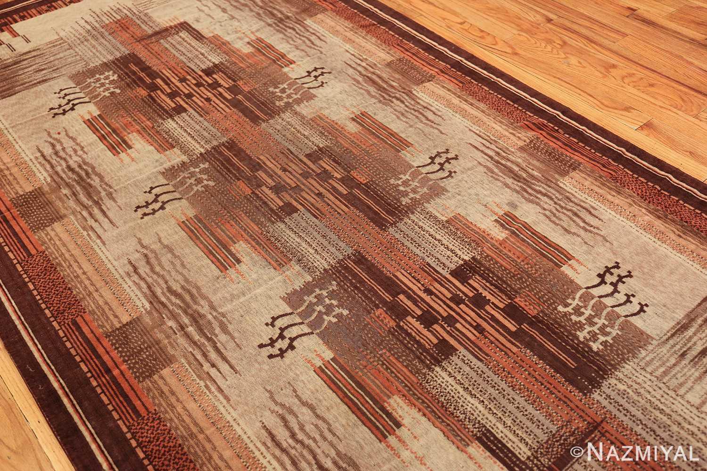 vintage french art deco carpet 46878 side Nazmiyal