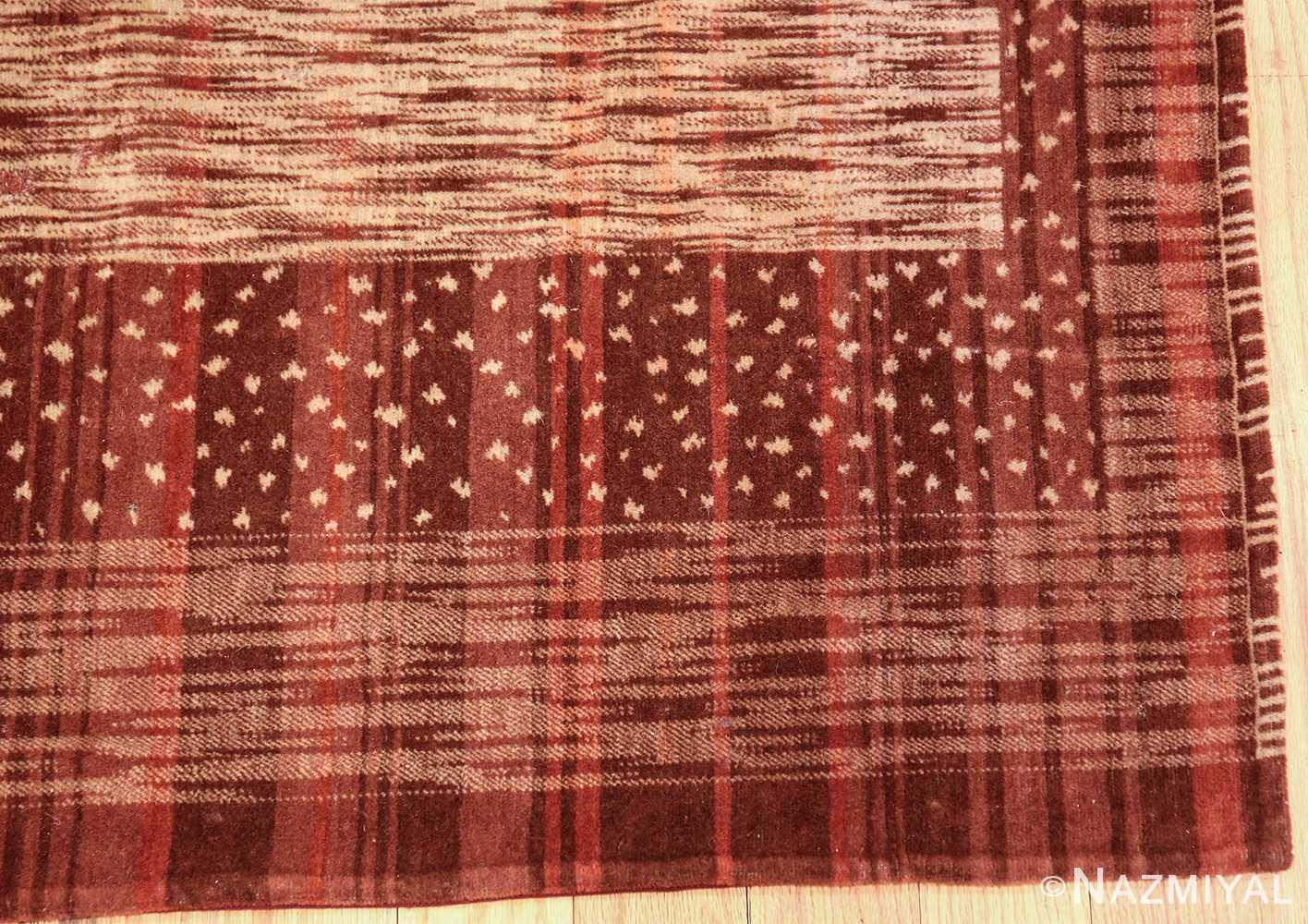 vintage french art deco rug 46876 corner Nazmiyal