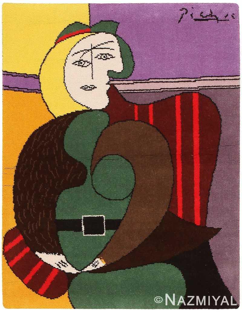 Vintage Pablo Picasso Rug 46872 Nazmiyal