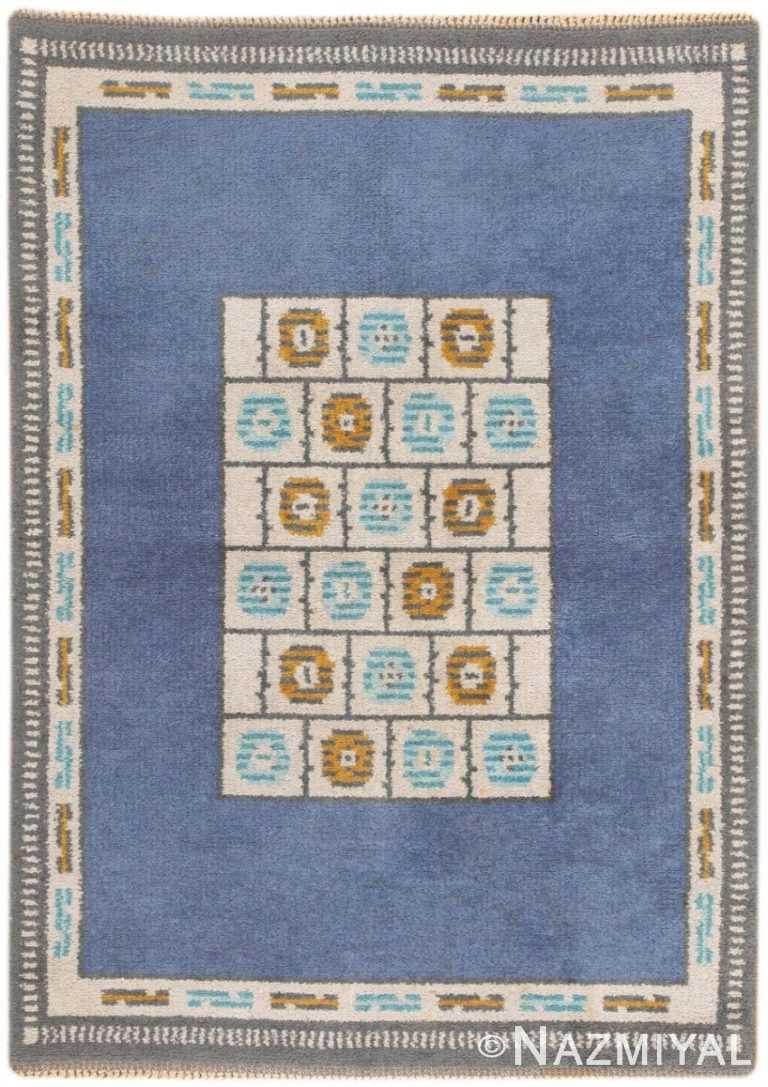 Vintage Scandinavian Pile Carpet 46856
