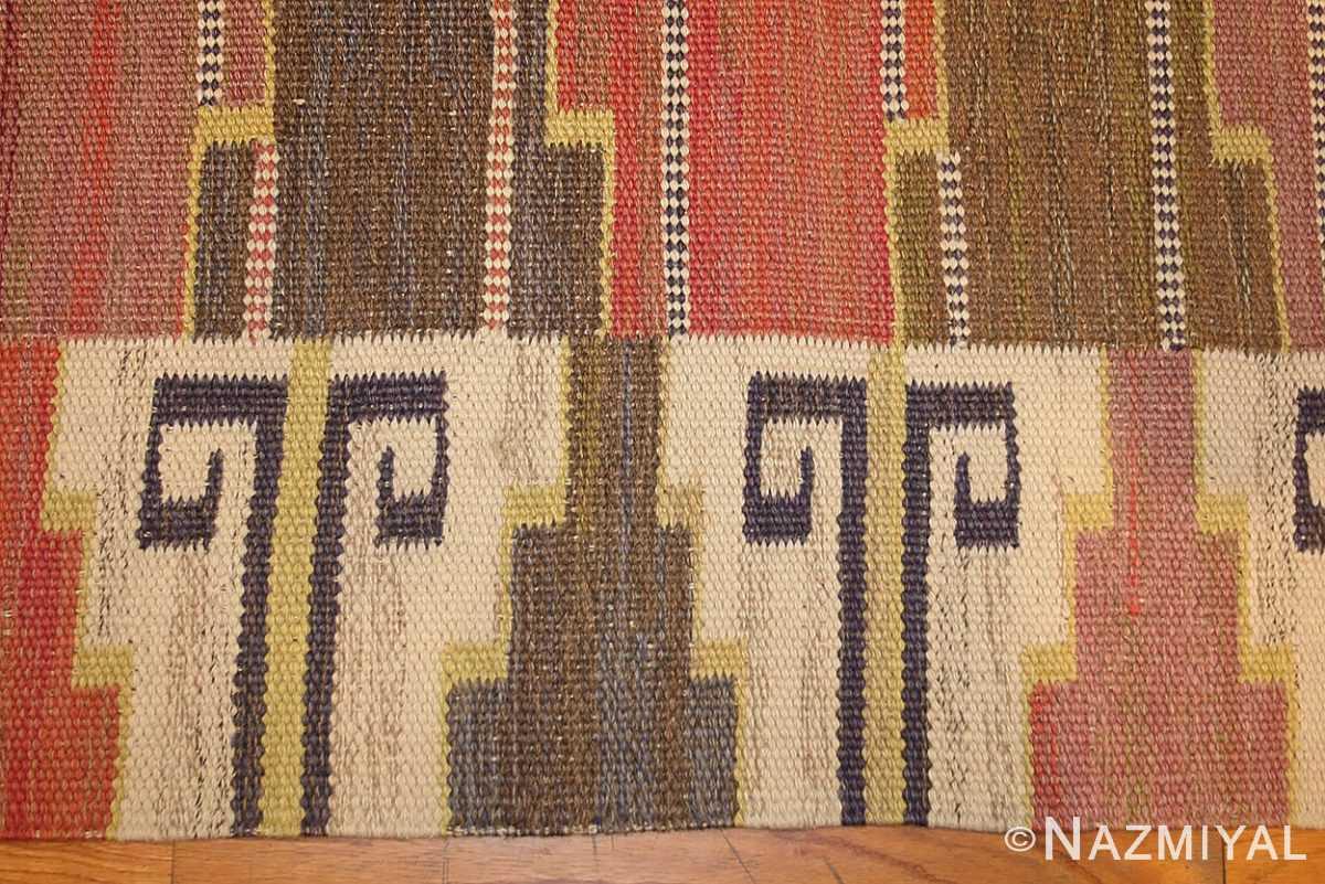 vintage scandinavian rug by marta maas fjetterstrom 46844 details Nazmiyal