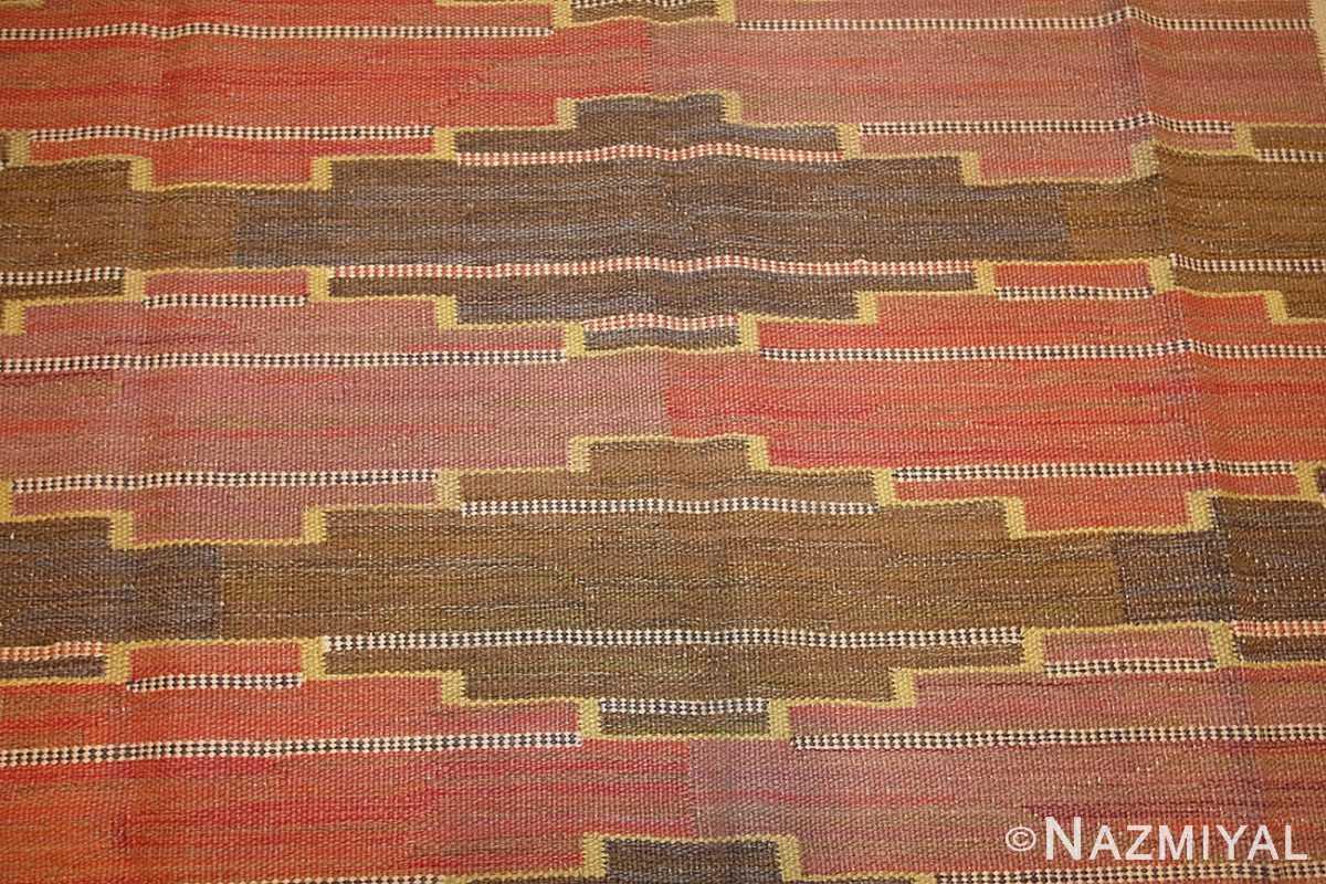 vintage scandinavian rug by marta maas fjetterstrom 46844 field Nazmiyal