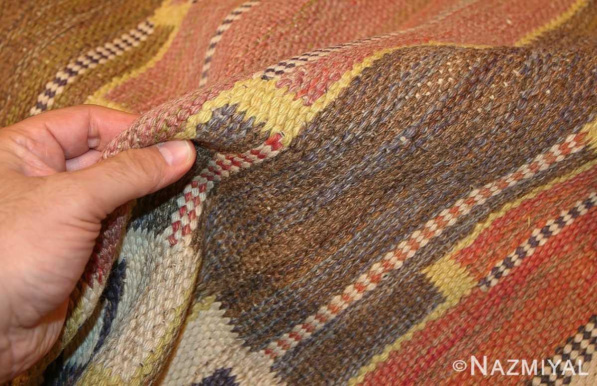 vintage scandinavian rug by marta maas fjetterstrom 46844 pile Nazmiyal
