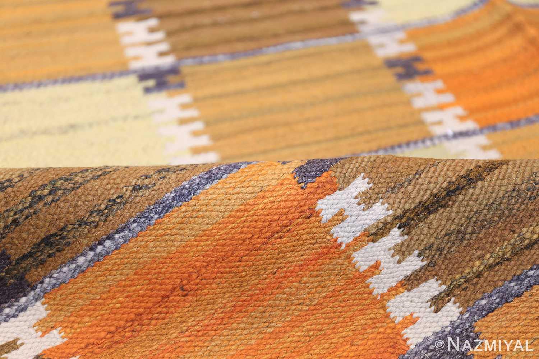 Vintage Scandinavian Rug by Wanda Krakow 46858 Colorful Pile Nazmiyal