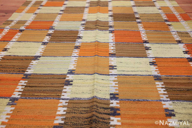 Vintage Scandinavian Rug by Wanda Krakow 46858 Field Nazmiyal