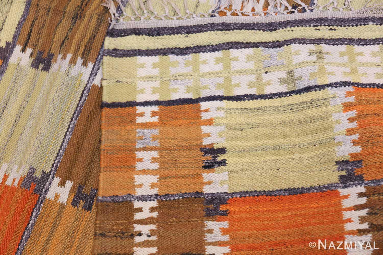 Vintage Scandinavian Rug by Wanda Krakow 46858 Knots Nazmiyal