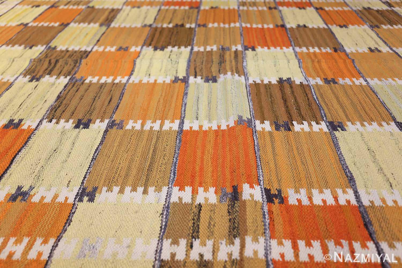 Vintage Scandinavian Rug by Wanda Krakow 46858 Rows of Lines Nazmiyal