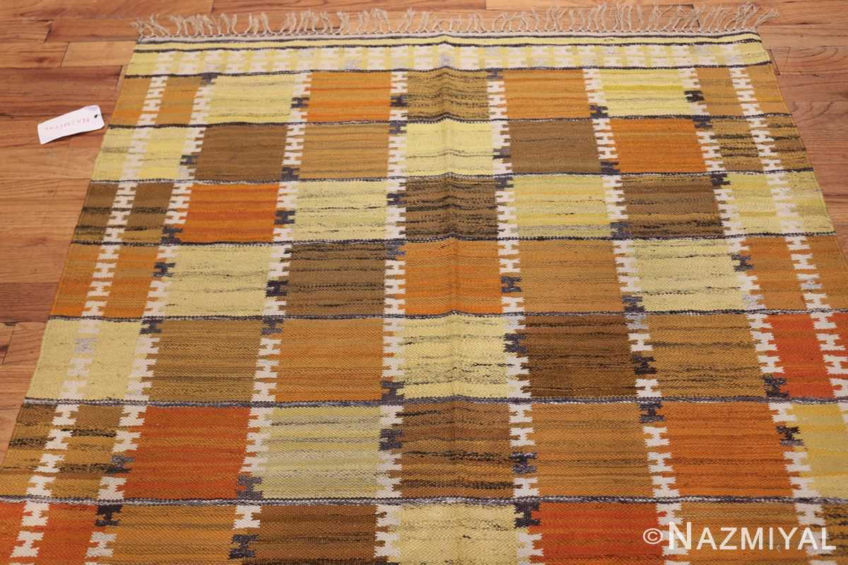 Vintage Scandinavian Rug by Wanda Krakow 46858 Top Nazmiyal