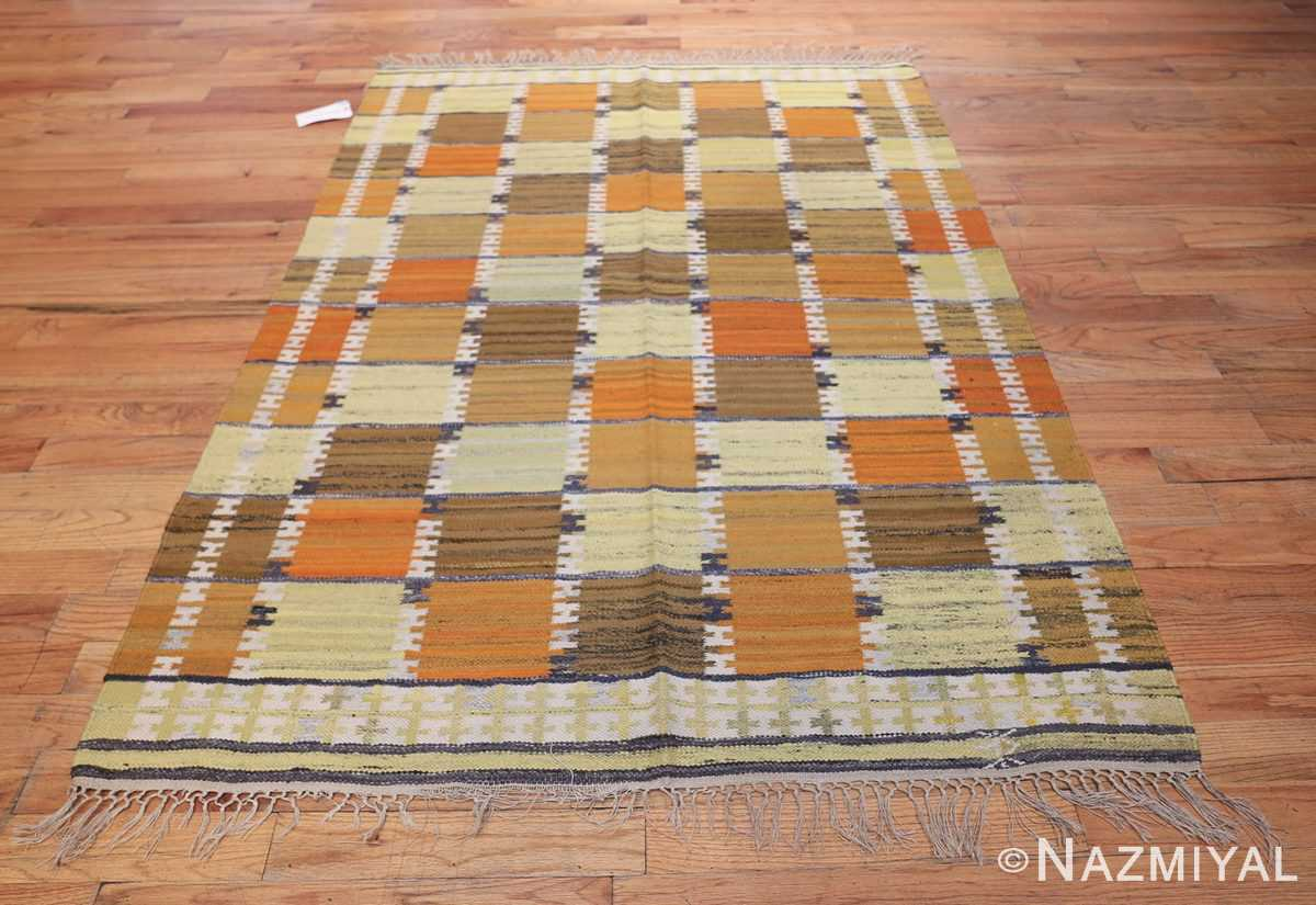 Vintage Scandinavian Rug by Wanda Krakow 46858 Whole Design Nazmiyal