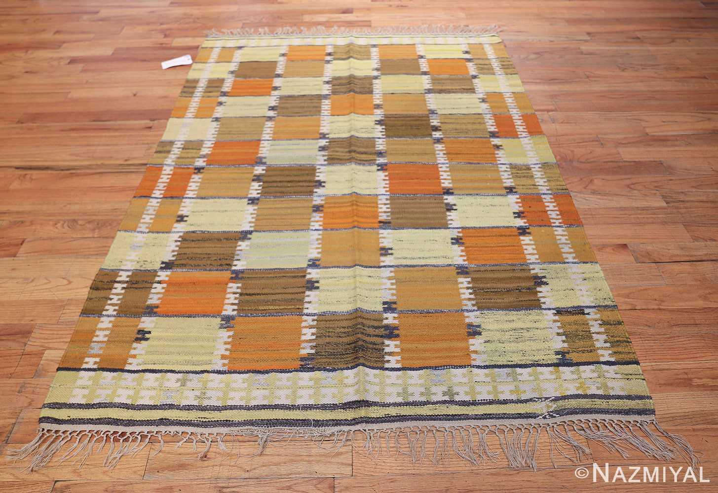 Vintage Scandinavian Rug by Wanda Krakow 46858 Whole Design Nazmiyal