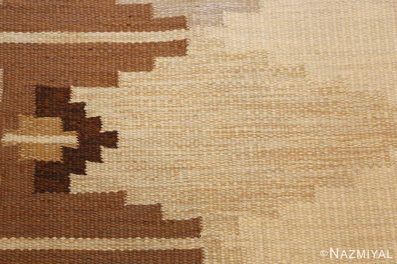 vintage swedish kilim 46864 texture Nazmiyal