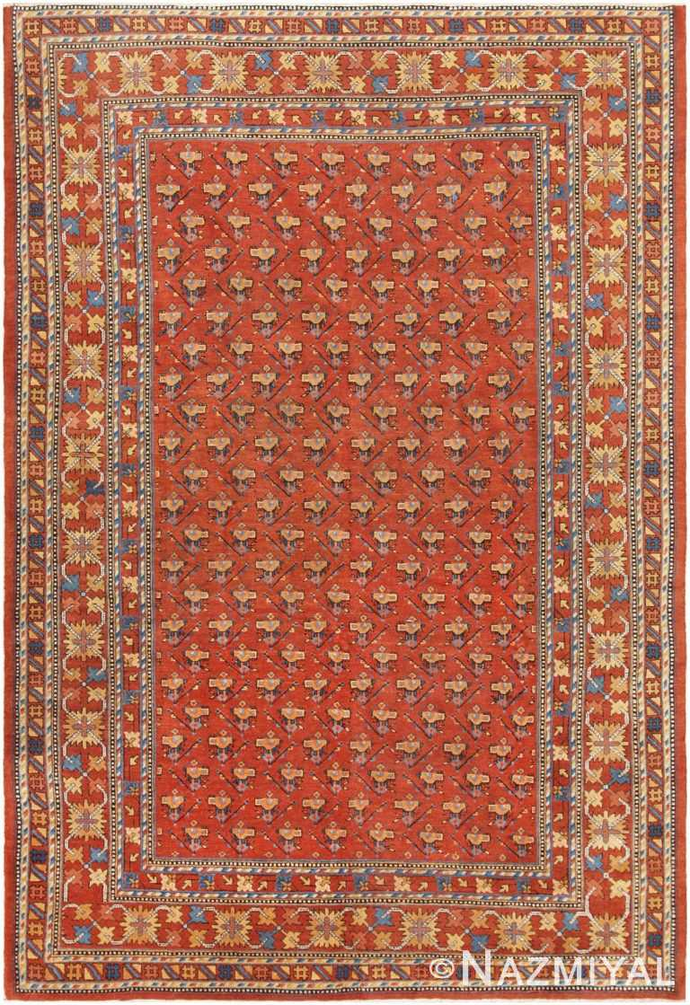 Antique Khotan Carpet 46826 Nazmiyal