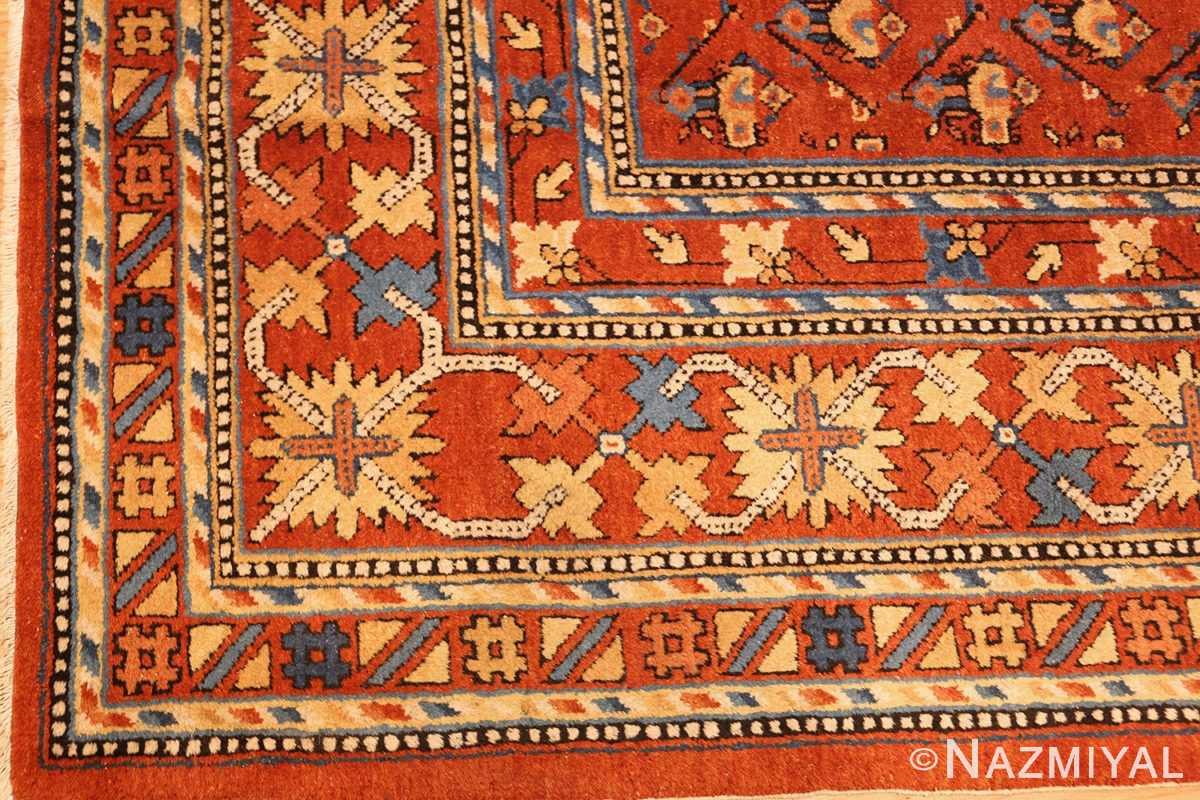 antique khotan rug 46826 corner Nazmiyal