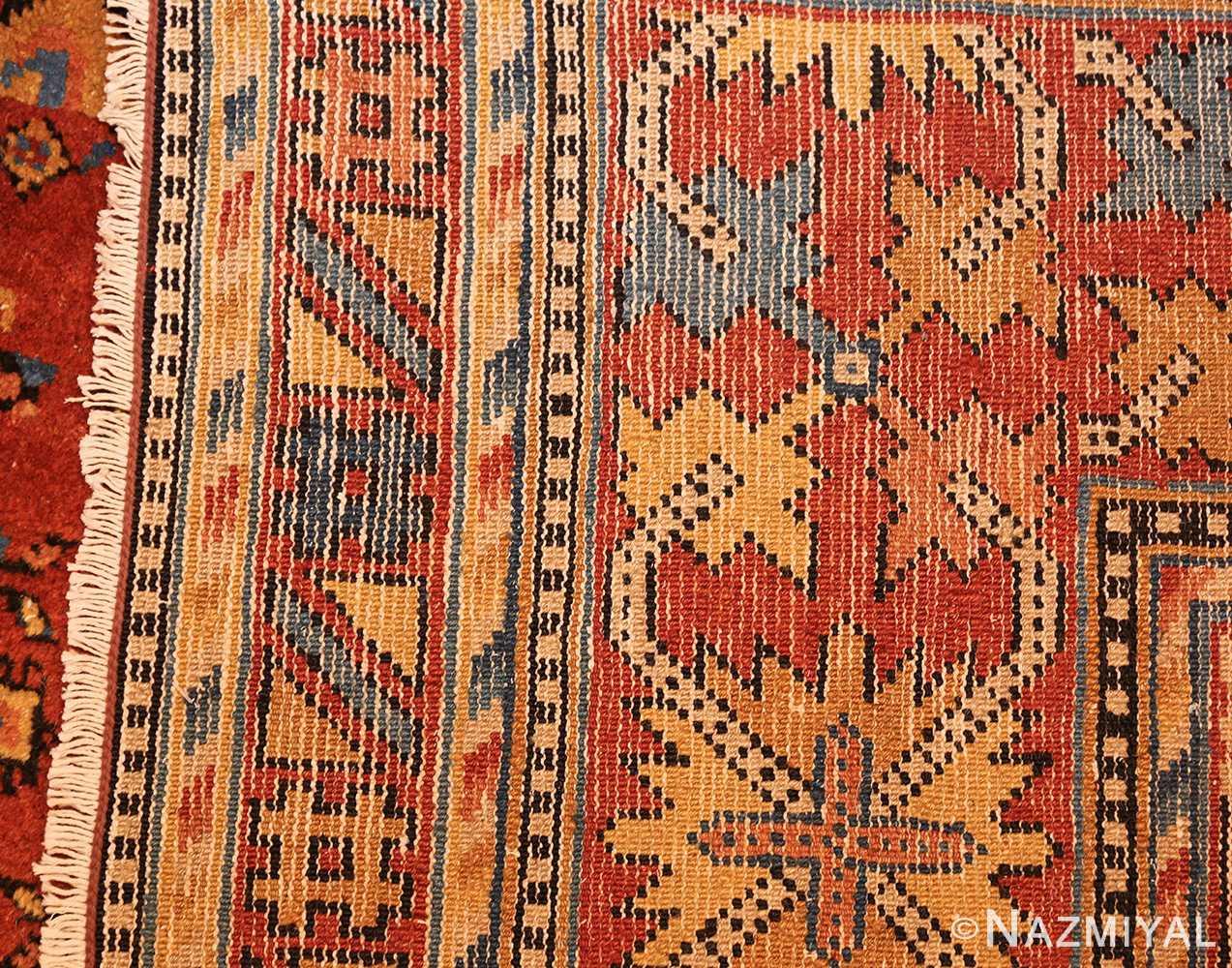 antique khotan rug 46826 weave Nazmiyal