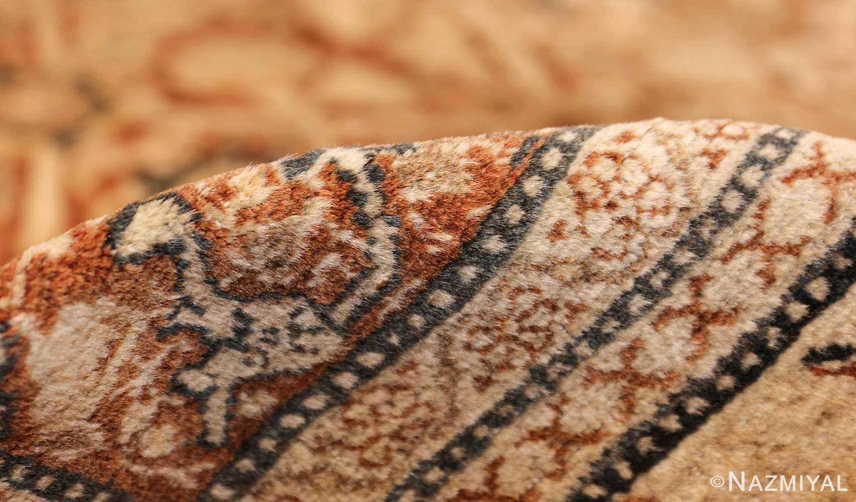 antique persian haji jalili tabriz carpet 46807 pile Nazmiyal