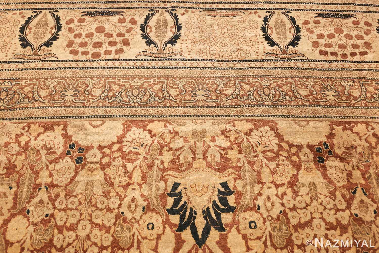 antique persian haji jalili tabriz carpet 46807 top Nazmiyal