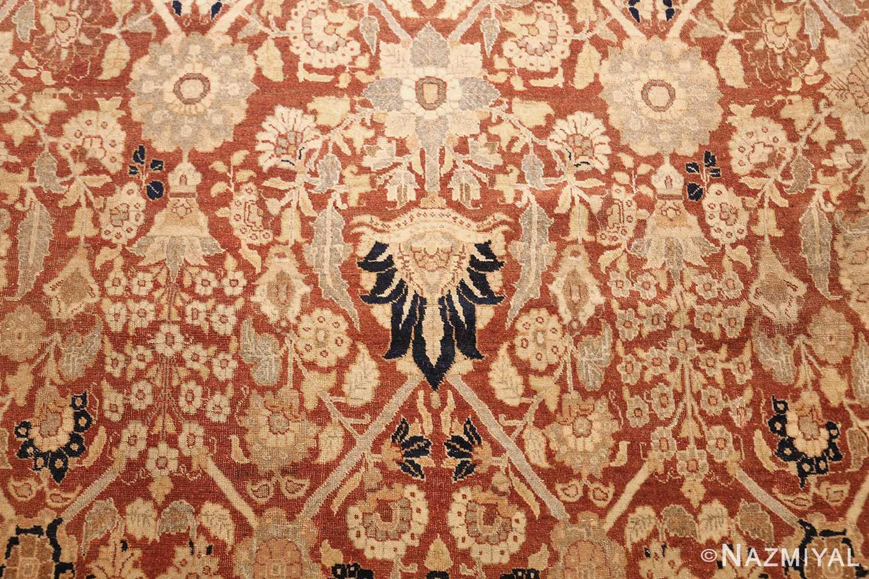 antique persian haji jalili tabriz carpet 46807 torch Nazmiyal