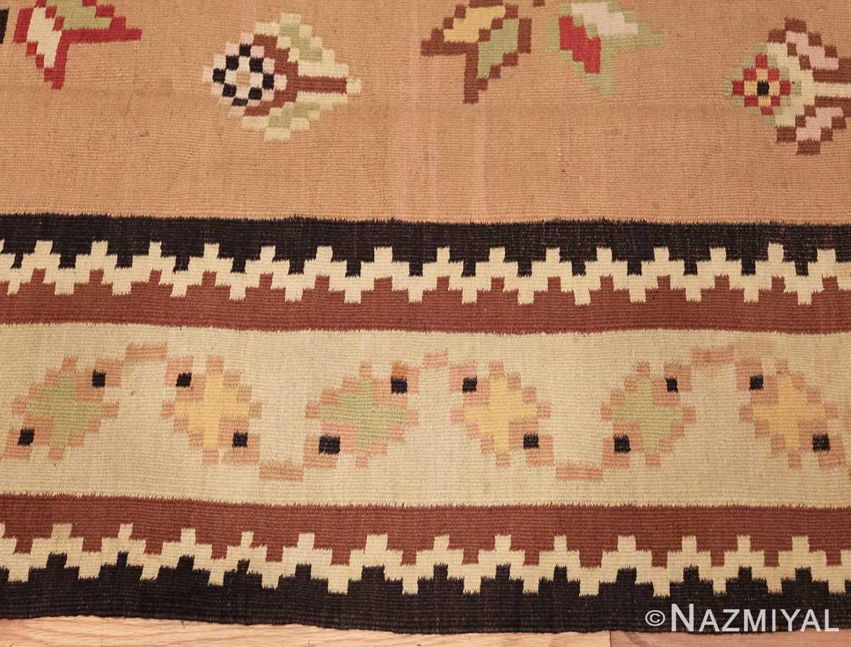 antique romanian bessarabian kilim 46925 border Nazmiyal