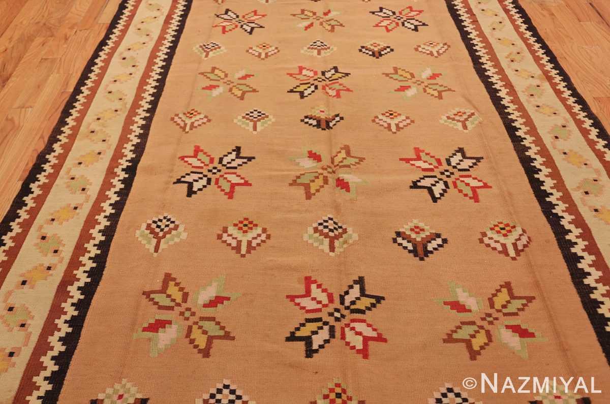 antique romanian bessarabian kilim 46925 field Nazmiyal