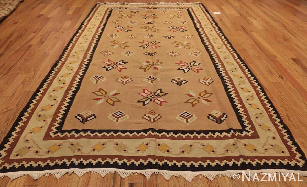antique romanian bessarabian kilim 46925 whole Nazmiyal
