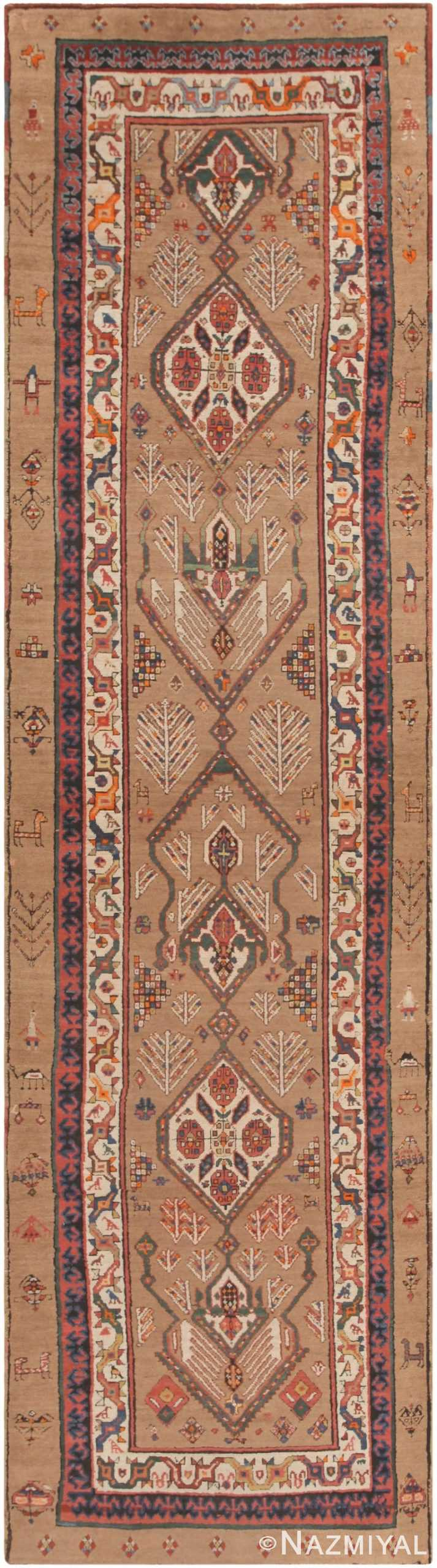 Antique Serab Persian Runner 44402 Nazmiyal