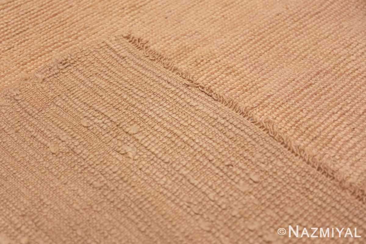 Back Antique Turquish Oushak rug 46694 by Nazmiyal