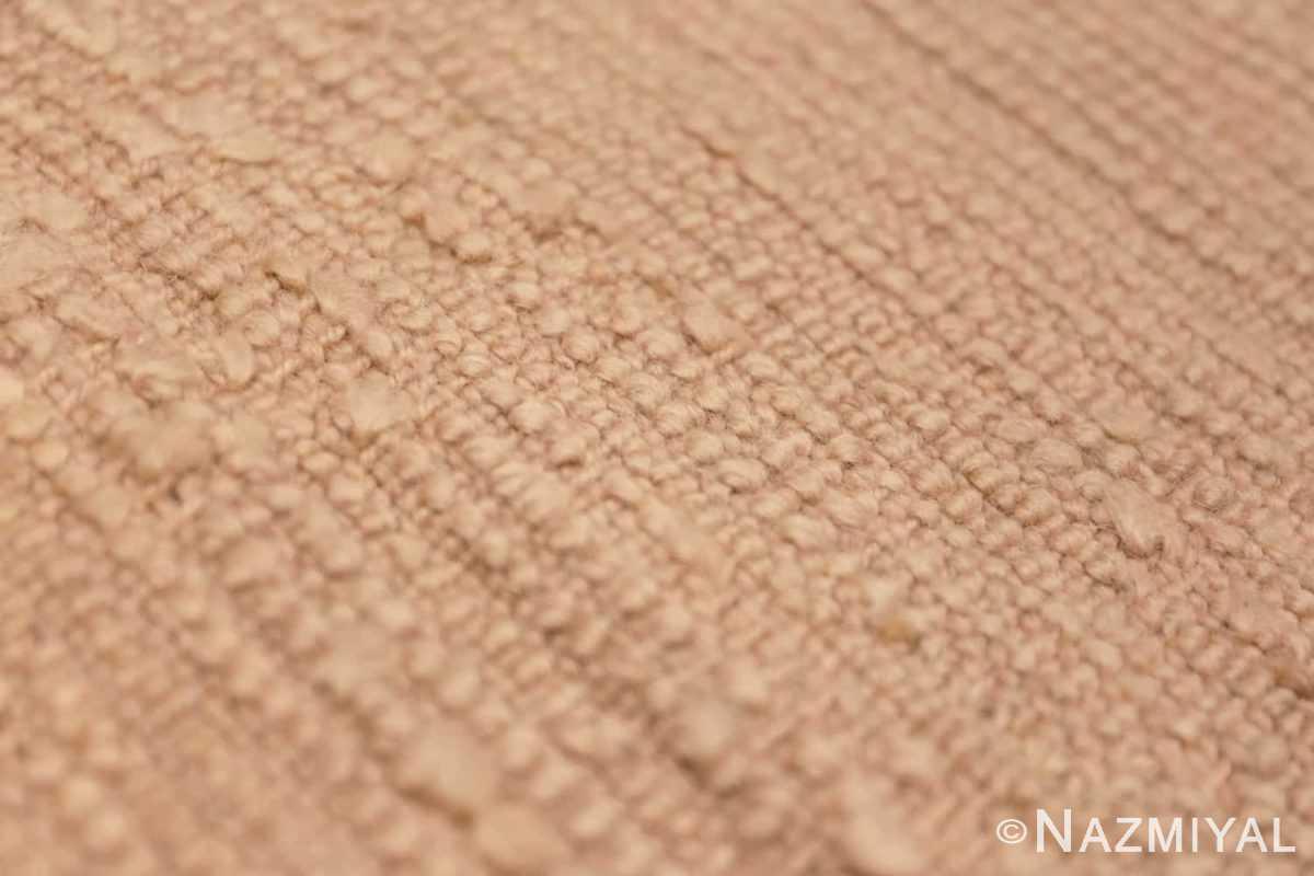Back detail Antique Turquish Oushak rug 46694 by Nazmiyal