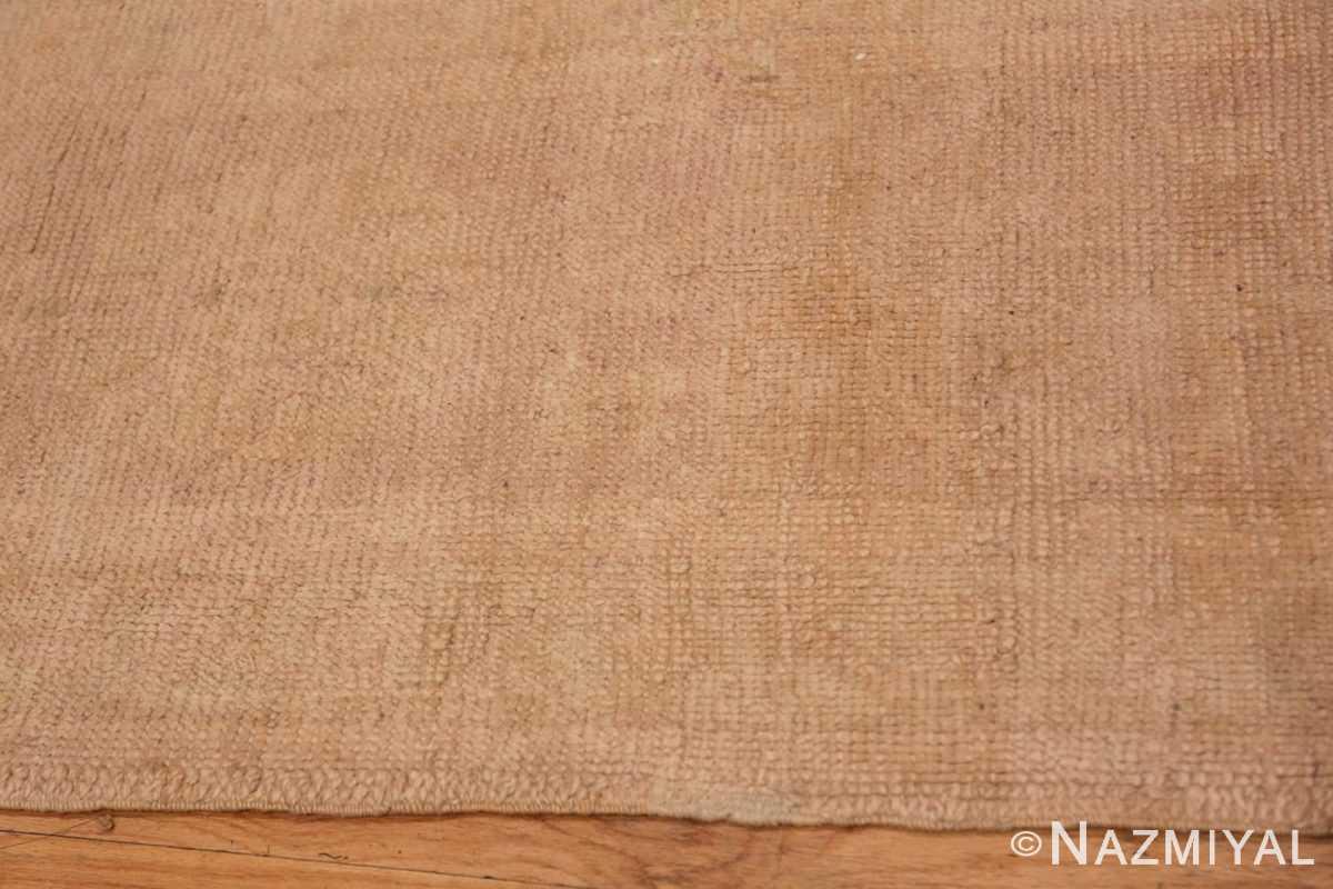 Border Antique Turquish Oushak rug 46694 by Nazmiyal