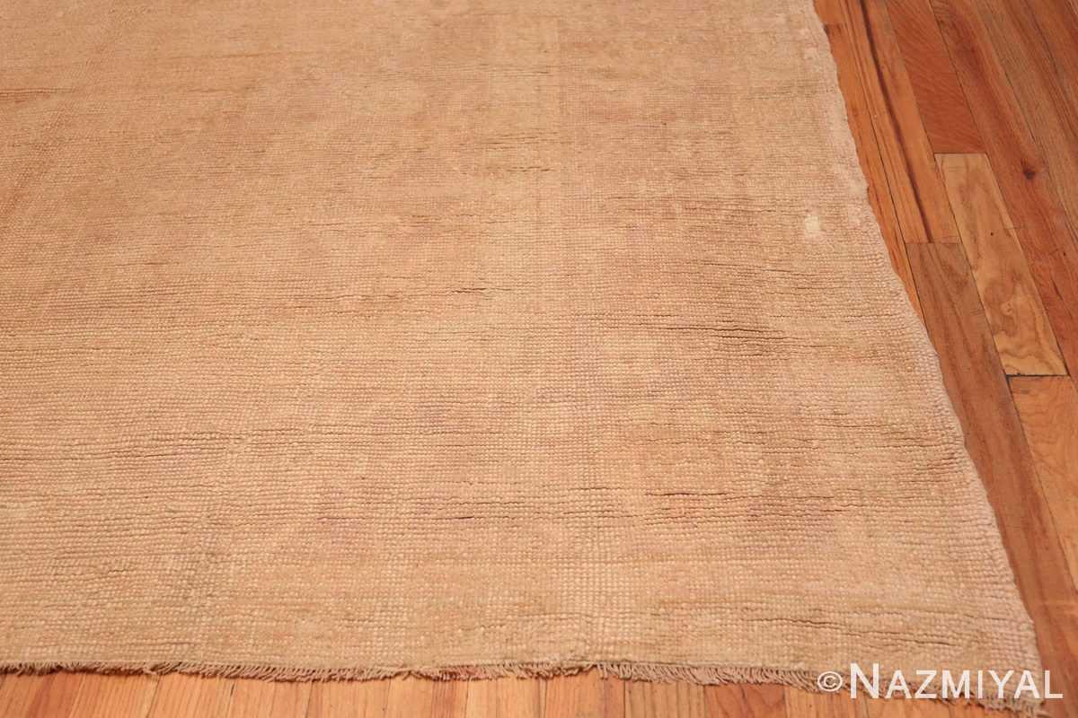 Corner Antique Turquish Oushak rug 46694 by Nazmiyal