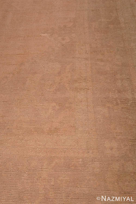 Detail Antique Turquish Oushak rug 46694 by Nazmiyal