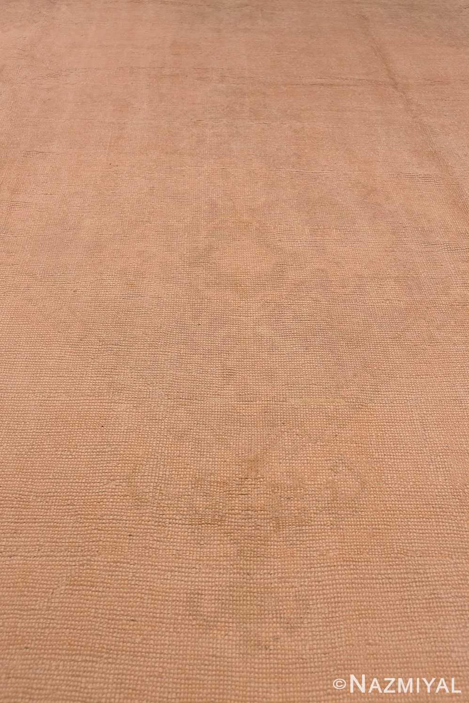 Field Antique Turquish Oushak rug 46694 by Nazmiyal
